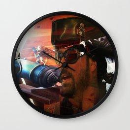 Sea Battle Memory Wall Clock
