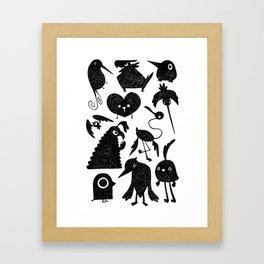 Birds Bird Burd Framed Art Print