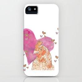 Chicken Love iPhone Case
