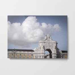 Summon the Clouds Metal Print