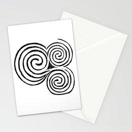Newgrange Celtic Triskelion Stationery Cards