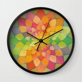 Chrysanthemum 2 Wall Clock