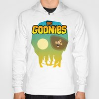 the goonies Hoodies featuring The Goonies by tuditees