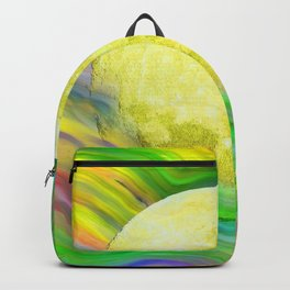 MOON VISIONS AT SEA OIL PAINTING Backpack