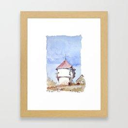 Le Petit Moulin de Batz, Rue de Beauregard Framed Art Print