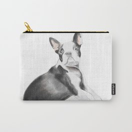 Dog lover Pug Looking closer Carry-All Pouch