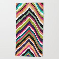 Color Slice Beach Towel