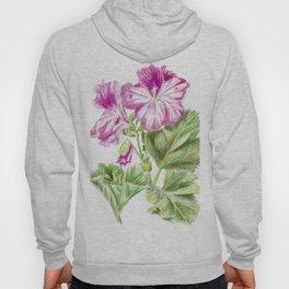 Royal geranium flower Hoody