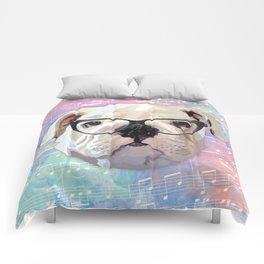 Singing Bulldog Comforters