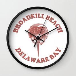 Broadkill Beach - Delaware. Wall Clock