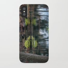 Cemetery Reflections iPhone Case
