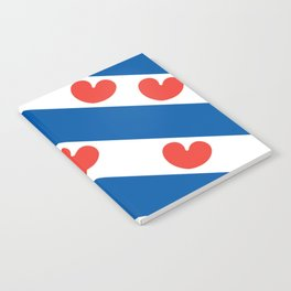 Flag of Friesland Notebook