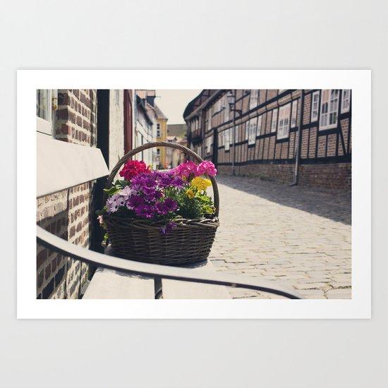 The Basket Art Print