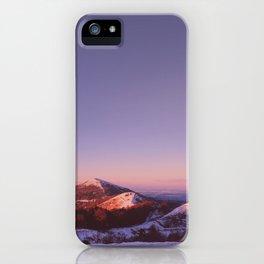 Under a blue sky iPhone Case