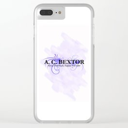 A.C. Bextor Clear iPhone Case