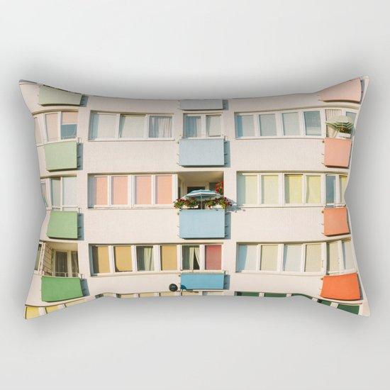 Apartment Life Rectangular Pillow