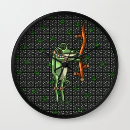 Briar the Frog Magician Wall Clock