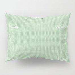 Springtime Butterflies - Green Pillow Sham