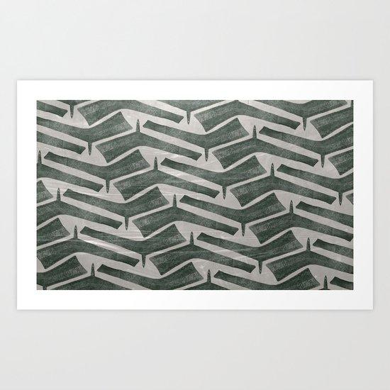 War Club Art Print