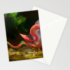 Rust off Fox Stationery Cards