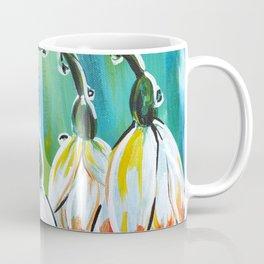 Drips on droopy flowers Coffee Mug