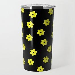 small yellow bib flowers Travel Mug