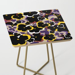 Pansy Love Side Table