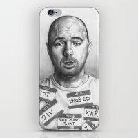 karl iPhone & iPod Skins featuring Karl Pilkington by Bungle