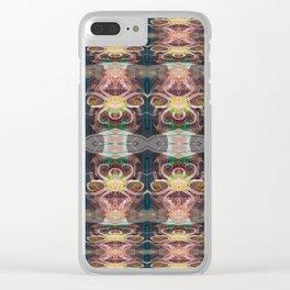 OctoSpider Elegant Stripes Clear iPhone Case