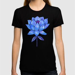 Sacred Lotus – Blue Blossom T-shirt