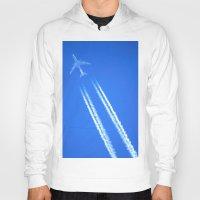 airplane Hoodies featuring Airplane by Uldis Ķēniņš