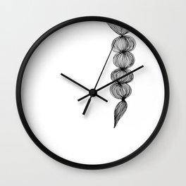 Native Braid Wall Clock