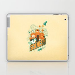 Science!!! It Knows Stuff! Laptop & iPad Skin