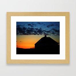 Hebridean Isle Sunset ii Framed Art Print