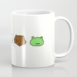 Crayon Animals Coffee Mug