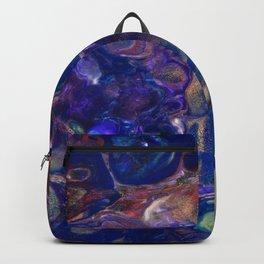 Purple Green Blue Red Flo Cels Backpack