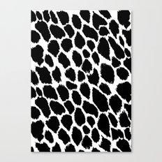 Leopard Polka Canvas Print