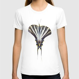 Scarce Swallowtail With Large Wingspan Vector T-shirt