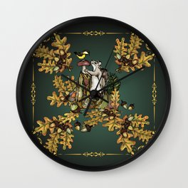 History of the autumn forest_2 Wall Clock