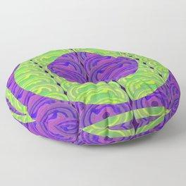 Circle design 3 Floor Pillow