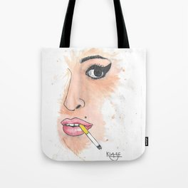 Amy Watercolor Tote Bag