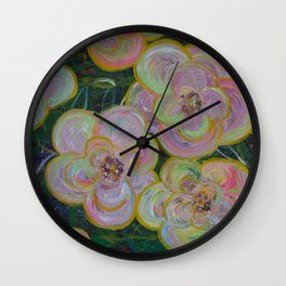 My flowers Wall Clock