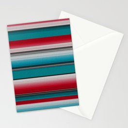 Mexican serape #5 Stationery Cards