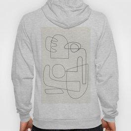 Minimal Abstract Shapes 02 Hoody
