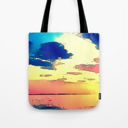 Heaven or Lies - ILL Design - Roth Gagliano Photography Tote Bag