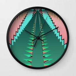Pop Art Road Trip Wall Clock