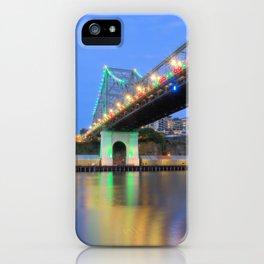 Christmas Bridge iPhone Case