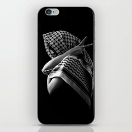 Peace Pose iPhone Skin