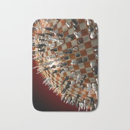Global Chess Game Bath Mat