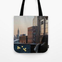 Hotel Sticky Notes Tote Bag
